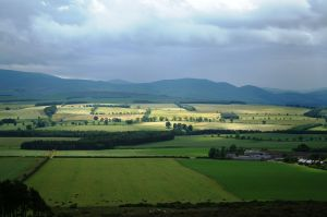 These are the Cheviot Hills in northern England. If you turn 180 degrees, you had a view of the North Sea.