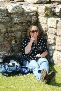 me at Lindisfarne